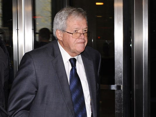 AP DENNIS HASTERT HOSPITALIZED A FILE USA IL