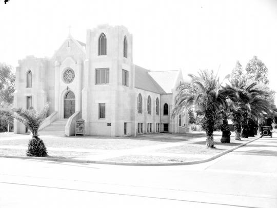 The Grace Lutheran Church and Third Street and Moreland