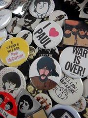 Memorabilia at the 2008 Fest for Beatles Fans