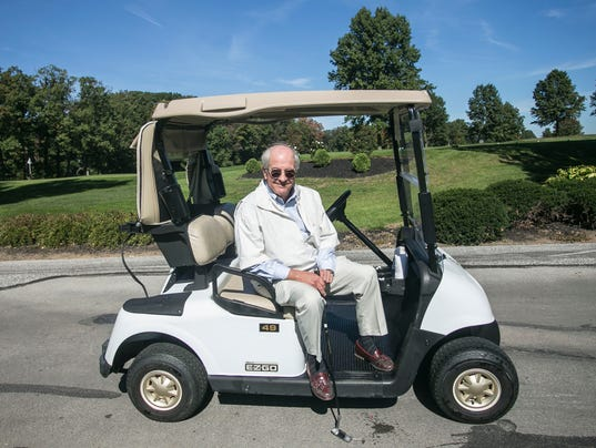 Local golfer Bob Elser