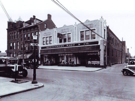 Montgomery Ward & Company store located on Frederick