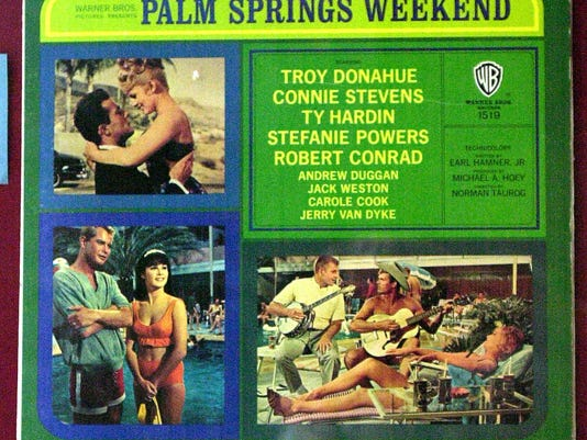 Palm Springs Weekend poster