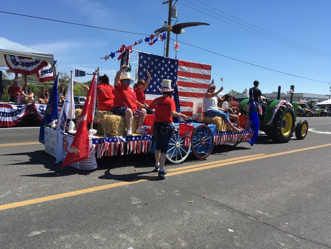 Images from Fernley's Fourth of July parade on Monday.