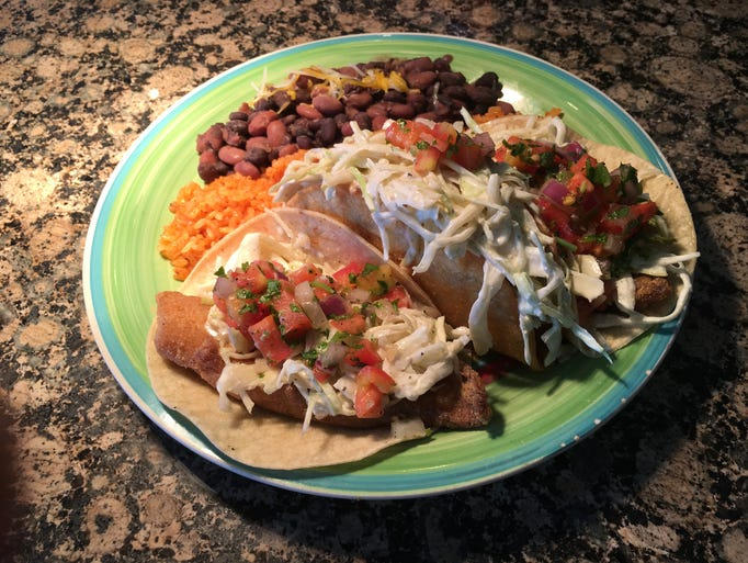 The fish tacos at Mexitaly in Springettsbury.