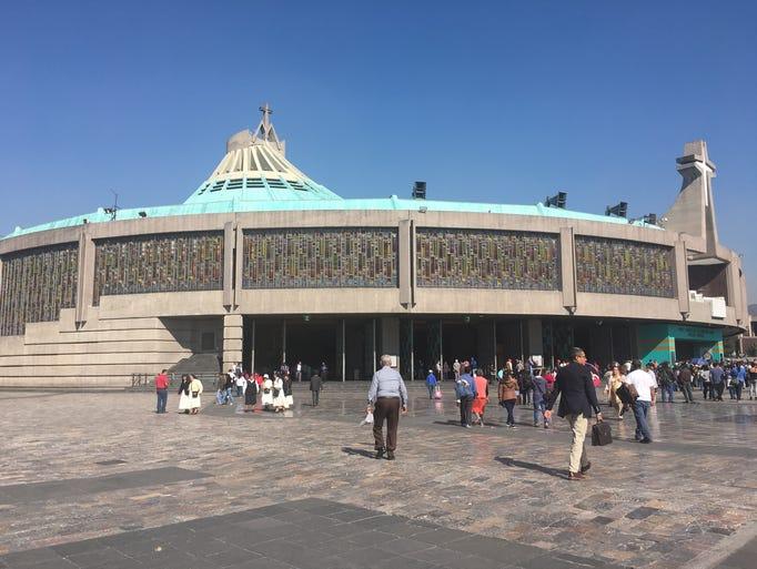 La Basílica de Guadalupe alberga la tilda en donde
