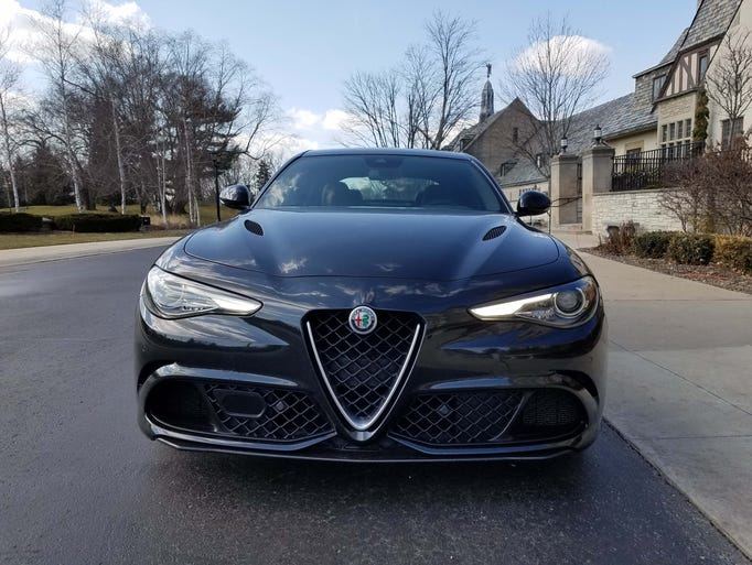 Talk about an impressive debut: The new Alfa Romeo