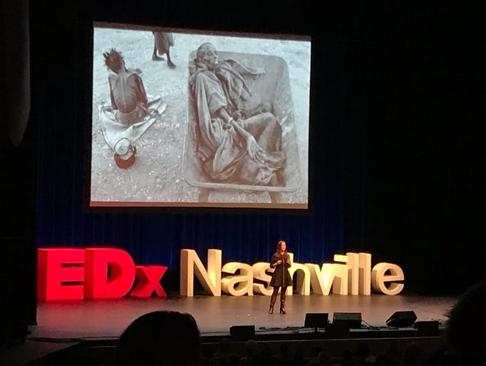 TEDxNashville opened with a powerful speech by TIME