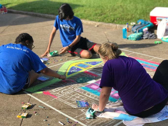 Art students participated Thursday in Bolton High School's