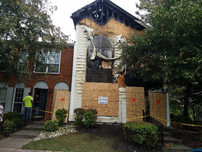 A fire late Sunday night claimed one life in an end-unit
