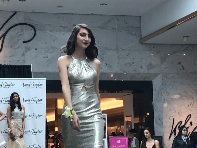 Sophia Scaravillo of Brighton models a halter top style