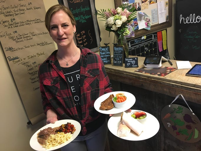 Laura Gossett, owner of Tasty Table Cafe and Catering,