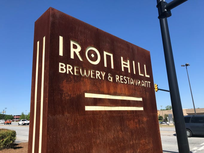 Iron Hill Brewery and Restaurant on Haywood Road in