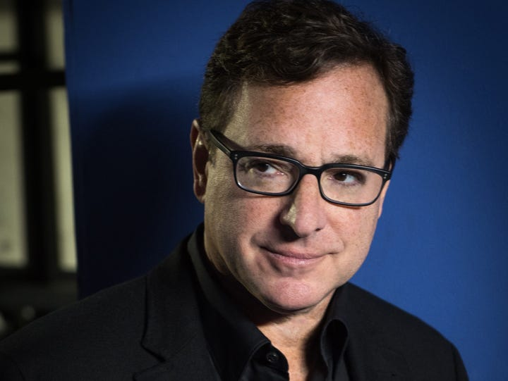 Bob Saget will perform two shows April 1 at Scherr