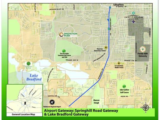 The original Airport Gateway plan.