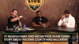 Packers players share funny story about coach McCarthy on Monday, Oct. 3, during Clubhouse Live.