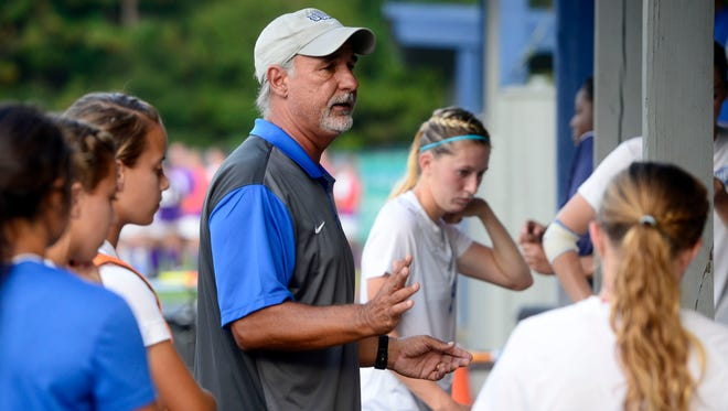 UWF women's soccer coach Joe Barlinski has his team rolling into the GSC Tournament where the Argos will host semifinal and championship games next weekend.