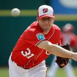 Max Scherzer allowed three hits in two innings in his second start.