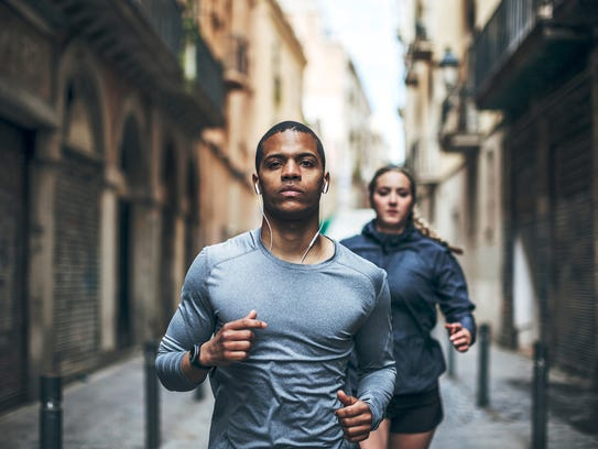 With Spotify's 'Running' feature, the music you listen