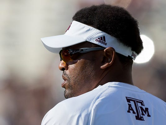 texas a&m coach kevin sumlin: family felt unsafe after racist letter