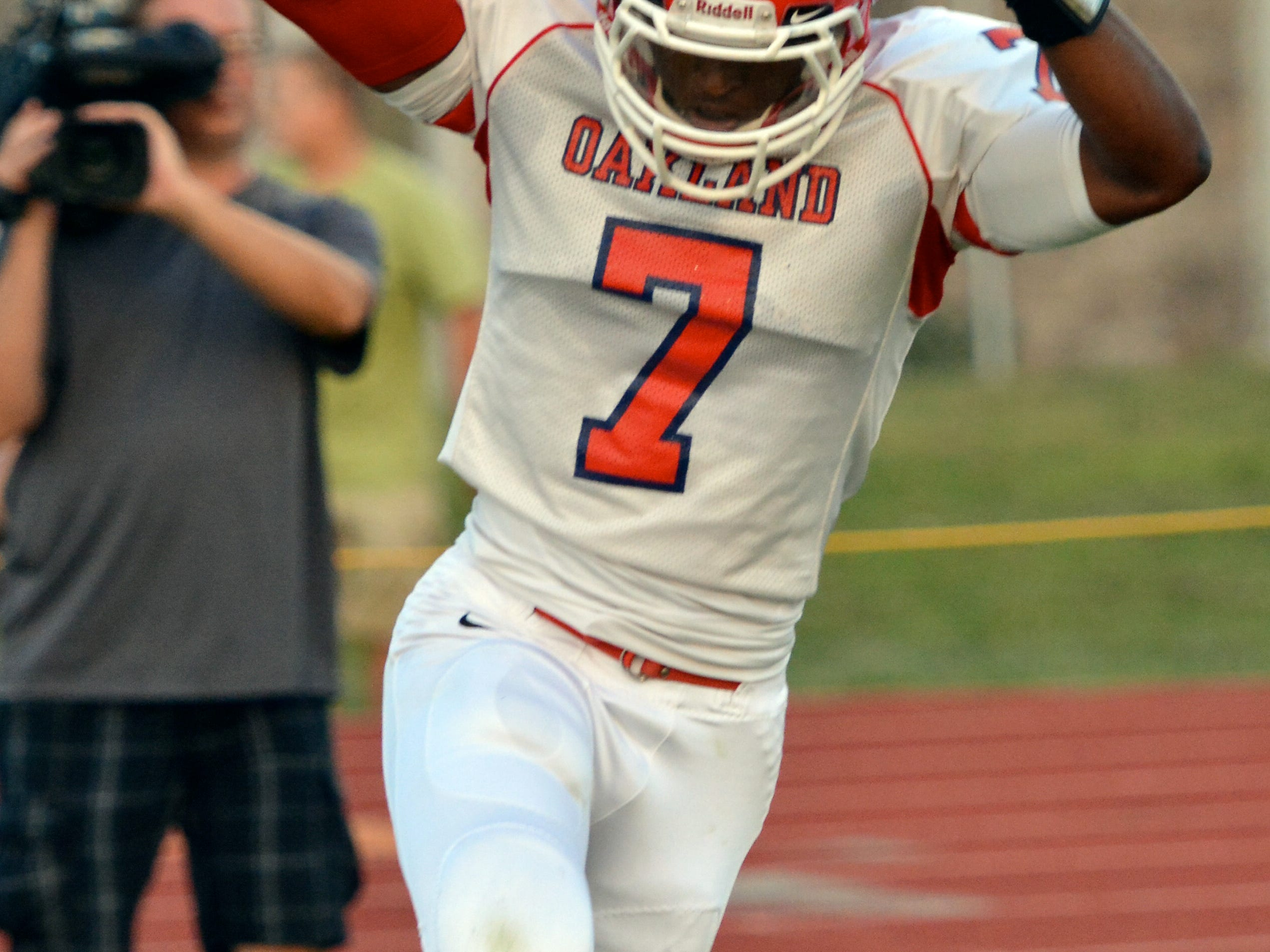 Oakland and JaCoby Stevens are No. 1 on The Tennessean's preseason Midstate Top 10 poll.