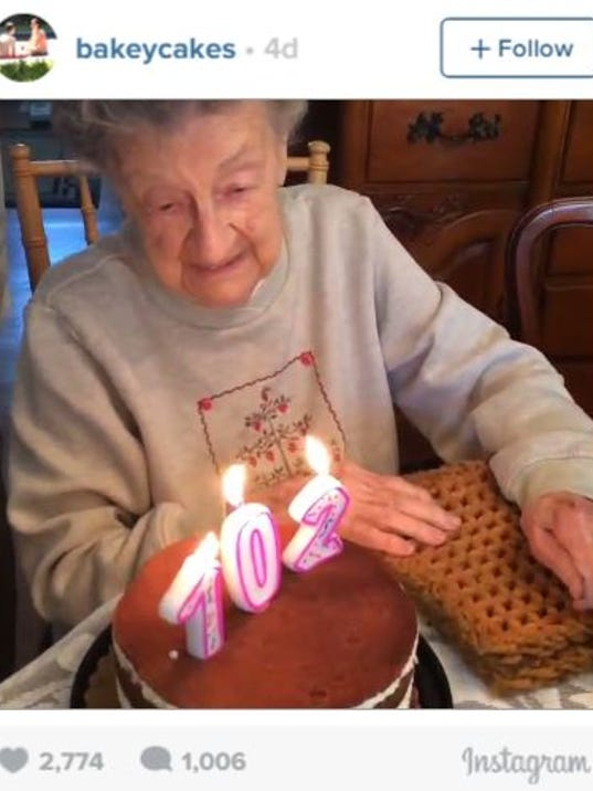 Louise Bonitos family was celebrating her birthday in North Haven ...