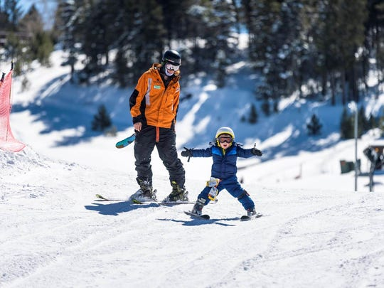 Angel Fire Resort is one of several winter sport resorts in New Mexico that offers ski and snowboard lessons to youths and adults.