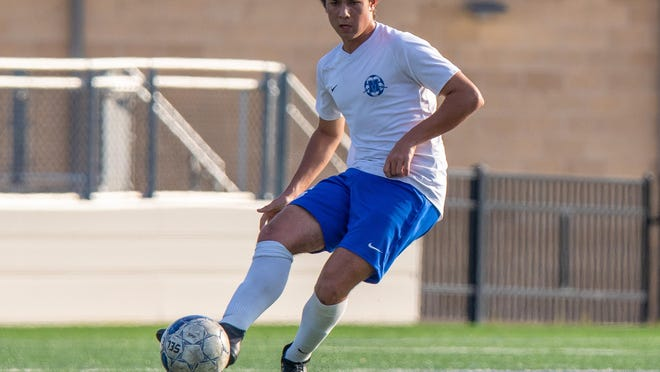 McCallum's Reed Johnson was among the players selected to the All-District 25-5A boys soccer first team.