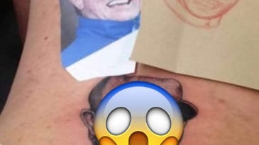 Royals fan gets the most hideous tattoo of Ned Yost