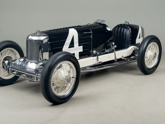 A Packard Miller Special on loan from the Indianapolis