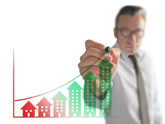 Real Estate is constantly rising a safe investment.