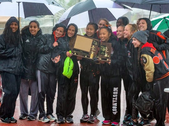Northville claimed its sixth straight Kensington Lakes Activities Association girls track and field title.