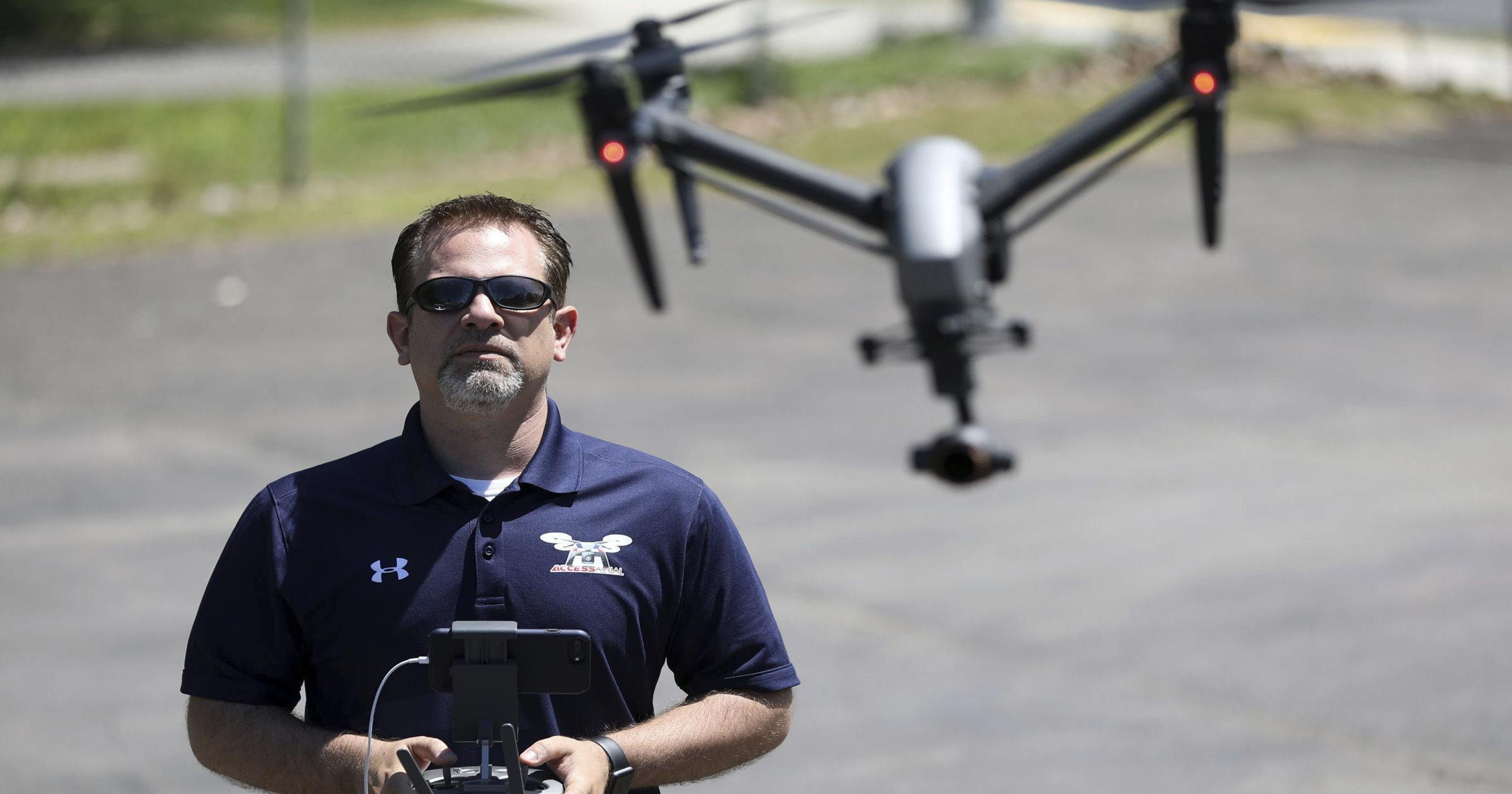 Pa  man turns drone hobby into business venture