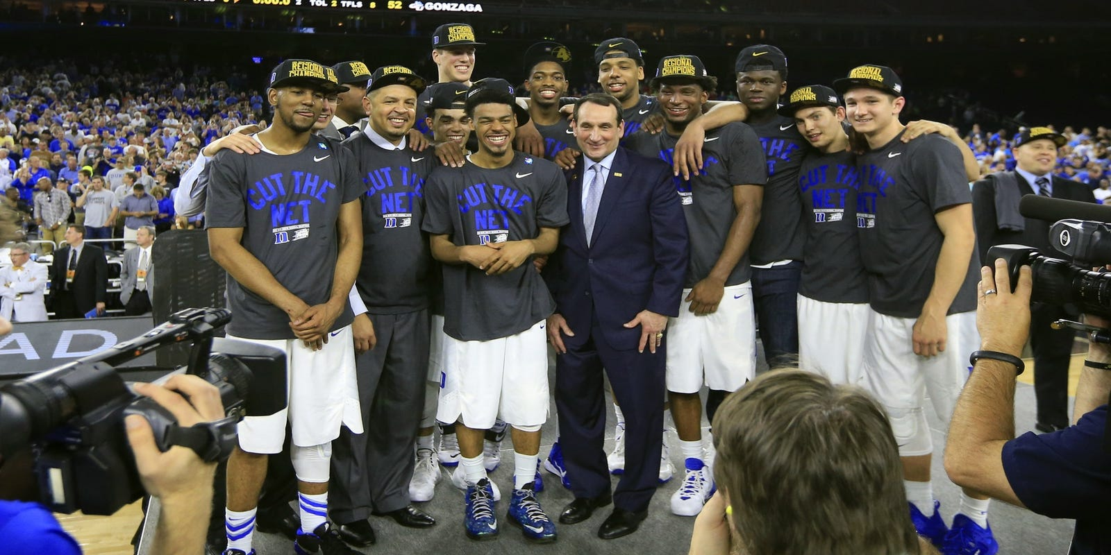 Duke back in Final Four after 66-52 win over Gonzaga