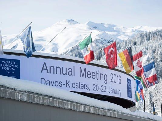 EPA SWITZERLAND ECONOMY WEF 2016 DAVOS POL TREATIES & ORGANISATIONS SCH GR