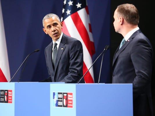 EPA POLAND WARSAW NATO SUMMIT POL TREATIES & ORGANISATIONS POL