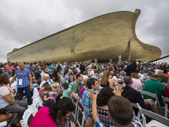 The Ark Encounter in northern Kentucky has drawn more than 2 million visitors in its first two years.
