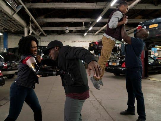 Marvel's Luke Cage - Simone Missick, Mike Colter