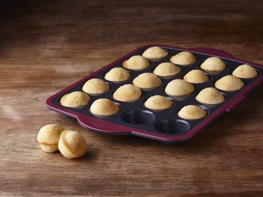 Trudeau Mini-Muffin Silicone Pan