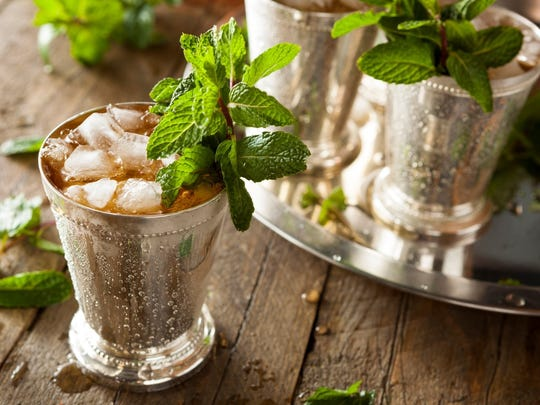 The right mint julep begins with the right liquor.