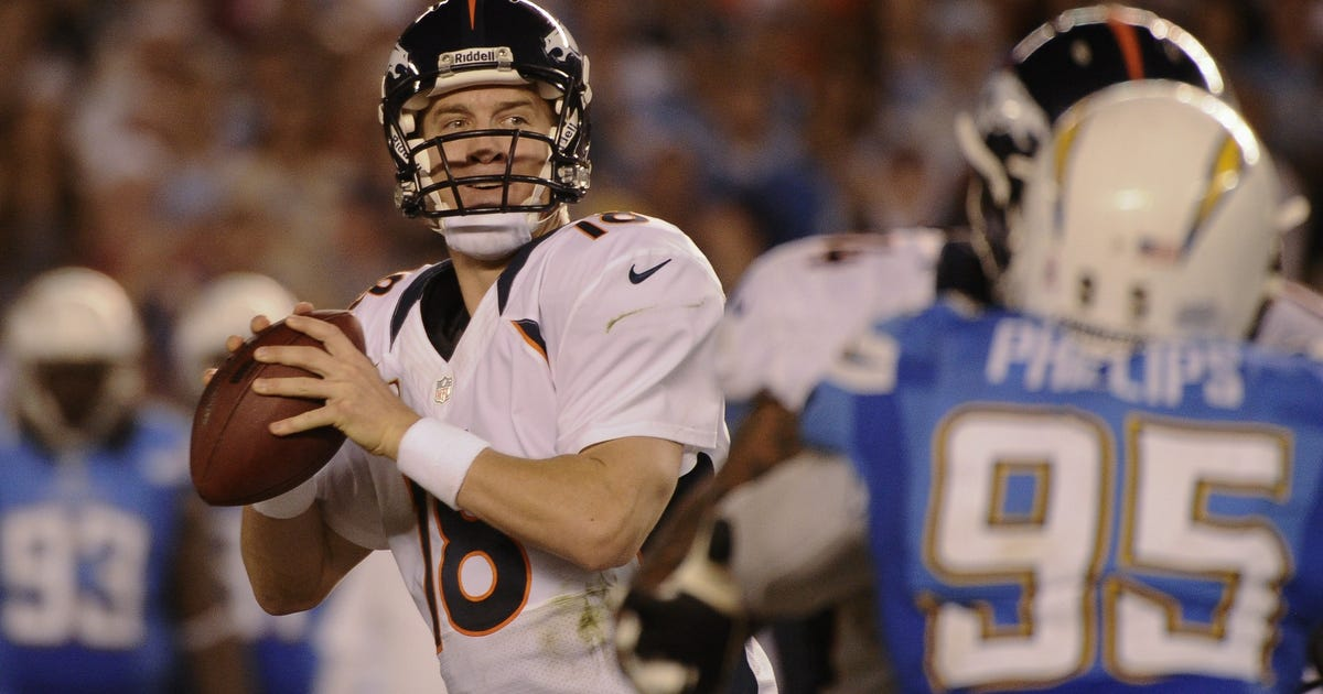 Manning Leads Broncos Back From 24 Down To Beat Bolts