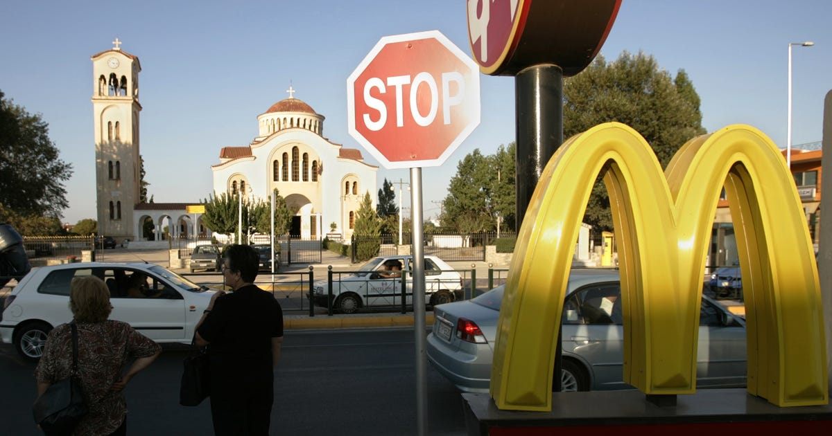 McDonald's and the Golden Arches have since become an internationally-recognized symbol of quick-service hamburgers, fries, chicken, breakfast items, salads and milkshakes. Cost Initial Investment.