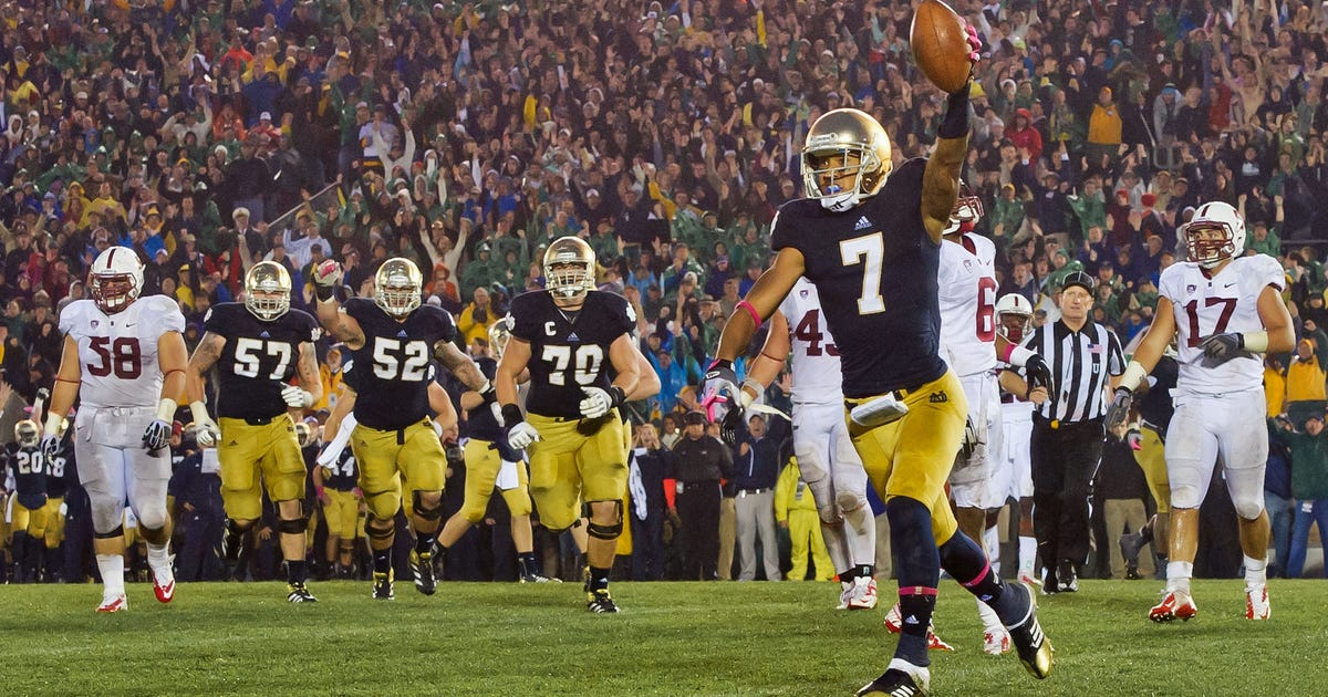 stanford notre dame score division 1 college football playoffs