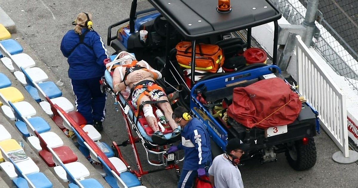 Dale Earnhardt Crash Investigation Two fans' conditions u...