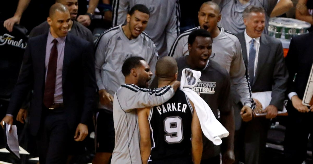 Tony Parker's Game 1 dagger leaves everyone floored