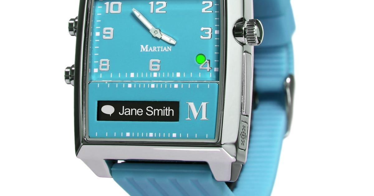 Martian smartwatch still a little spacey