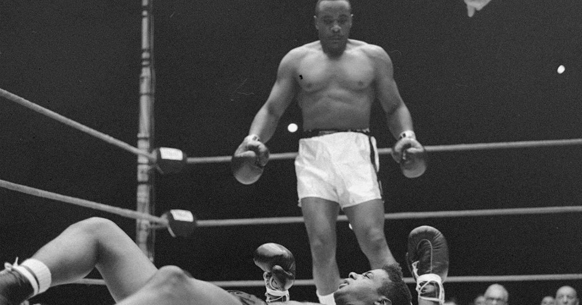 Video 50 Years Ago Sonny Liston Won Heavyweight Title
