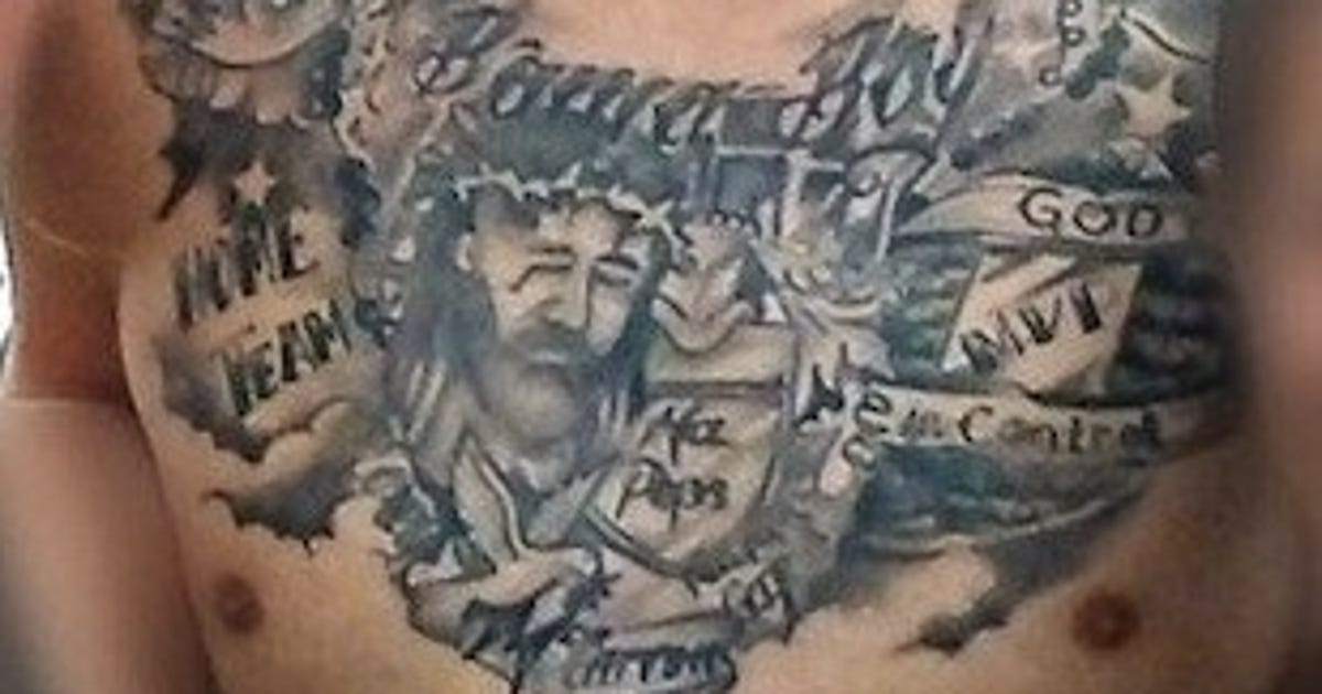 A J Mccarron Has Some New Tattoos That Are Uh Interesting