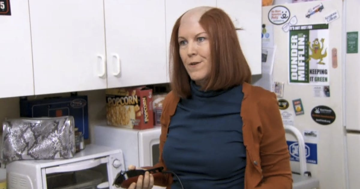 Last Night S Tv Kate Flannery Rocked The Office