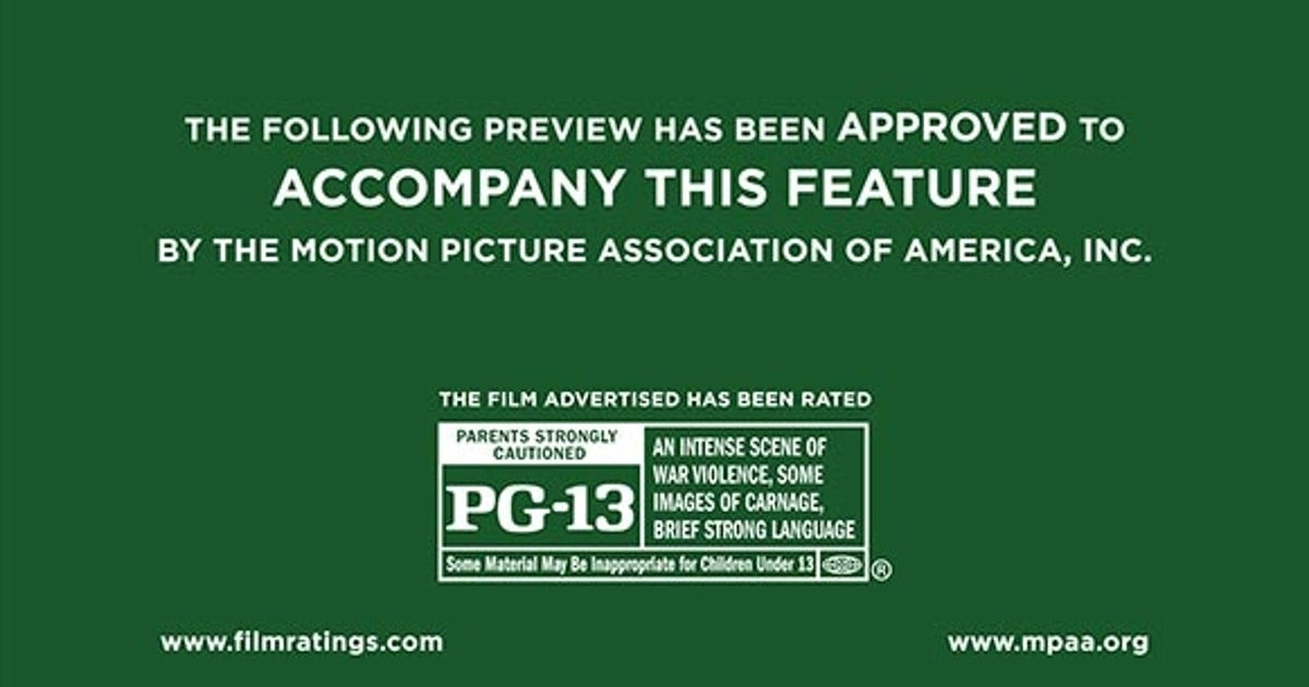Official movie ratings