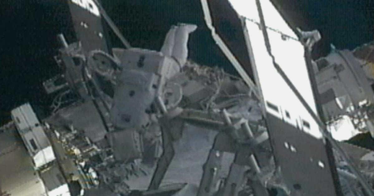space station ammonia leak - photo #15